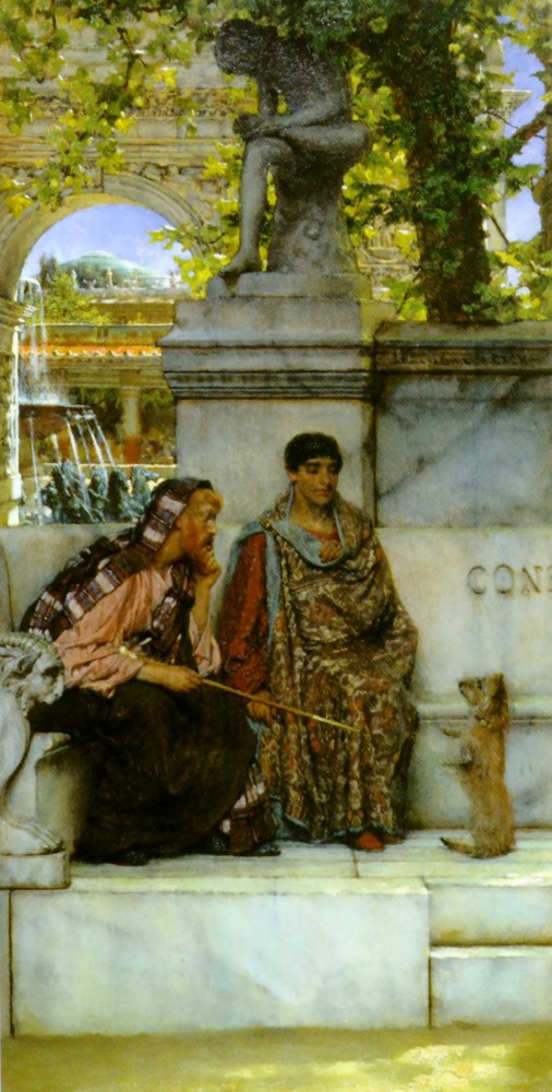 In the Time of Constantine by Sir Lawrence Alma-Tadema