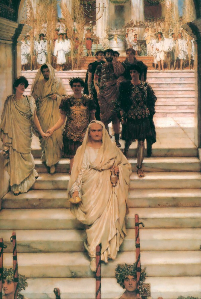The Triumph of Titus by Sir Lawrence Alma-Tadema