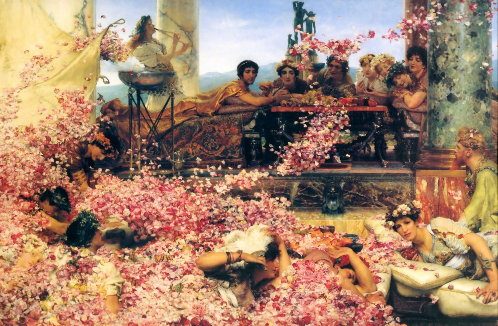 The Roses of Heliogabalus by Sir Lawrence Alma-Tadema
