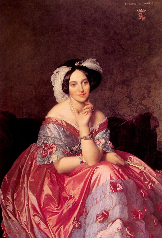 Baronne James de Rothschild2 by Jean-Auguste-Dominique Ingres