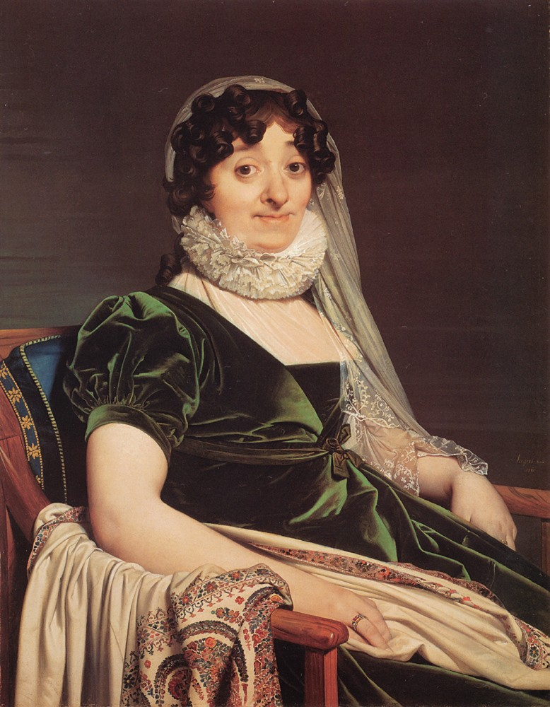 Comtess de Tournon by Jean-Auguste-Dominique Ingres