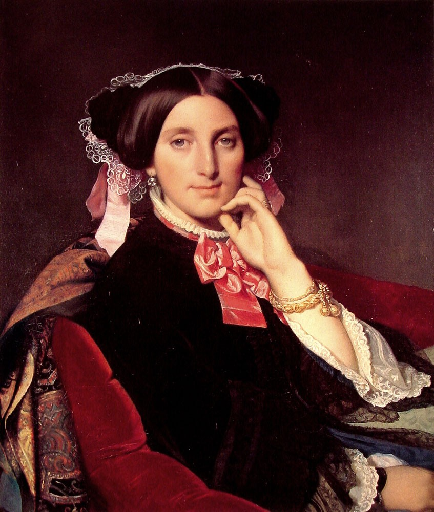 Madame Henri Gonse by Jean-Auguste-Dominique Ingres