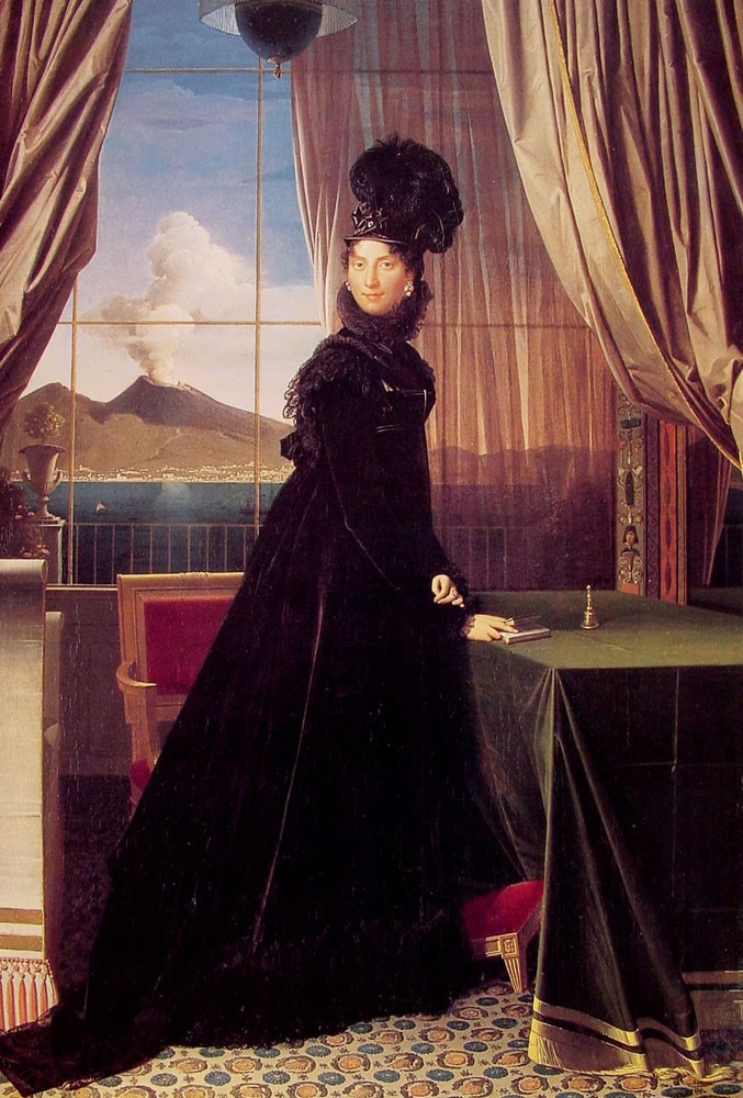 Queen Caroline Murat by Jean-Auguste-Dominique Ingres