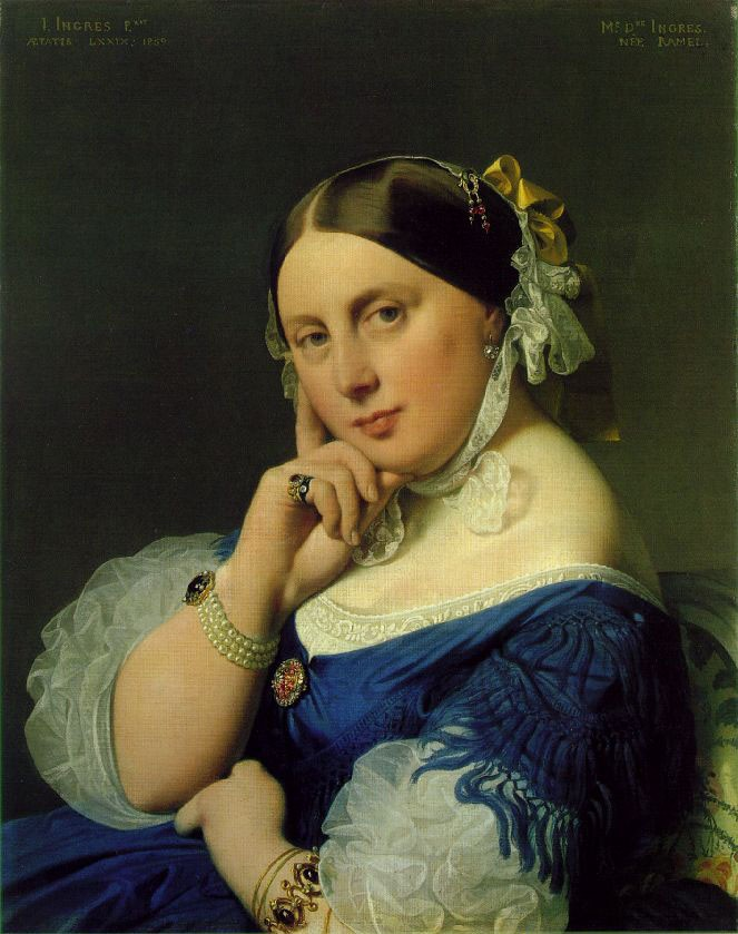 Ramel by Jean-Auguste-Dominique Ingres