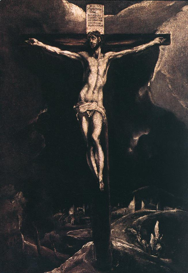 Christ on the Cross by Doménikos Theotokópoulos (el Greco)