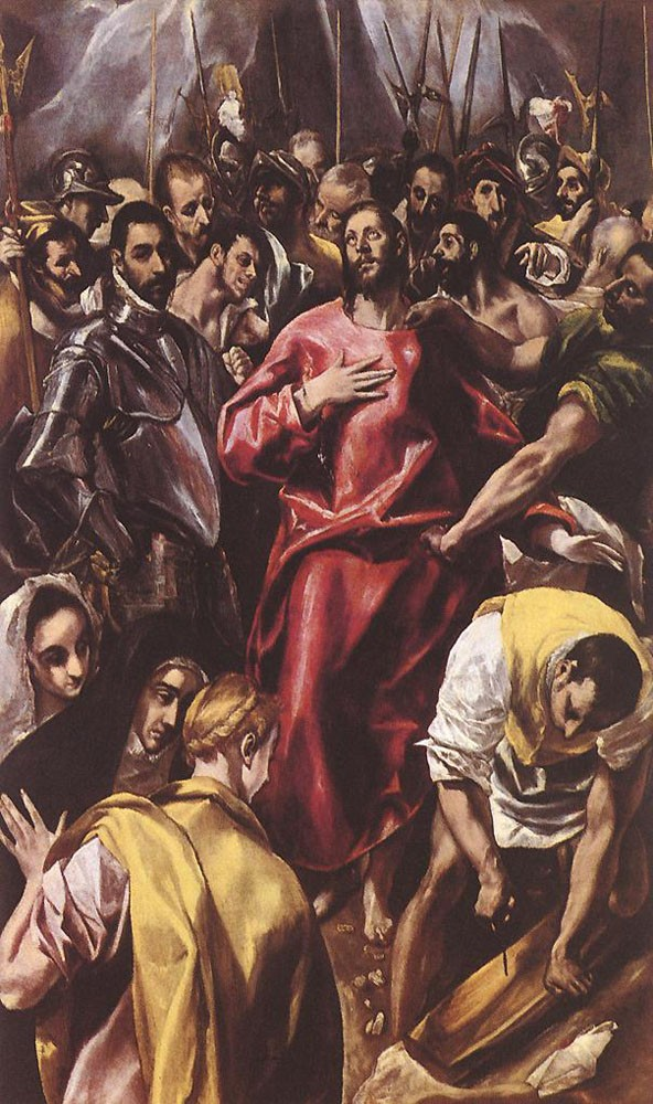 The Disrobing of Christ by Doménikos Theotokópoulos (el Greco)