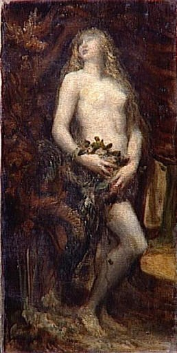 The Temptation of Eve by George Frederic Watts