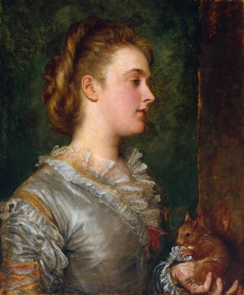 Dorothy Tennant Later Lady Stanley by George Frederic Watts