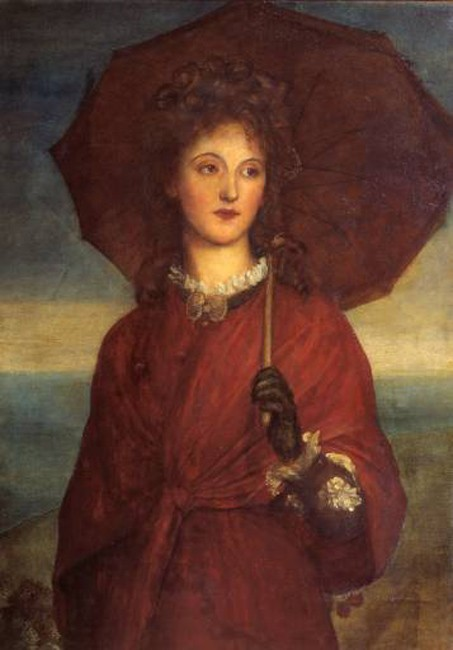 Eveleen Tennant by George Frederic Watts