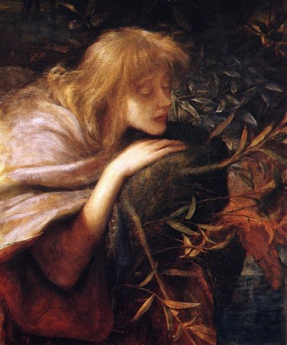 Ophelia by George Frederic Watts