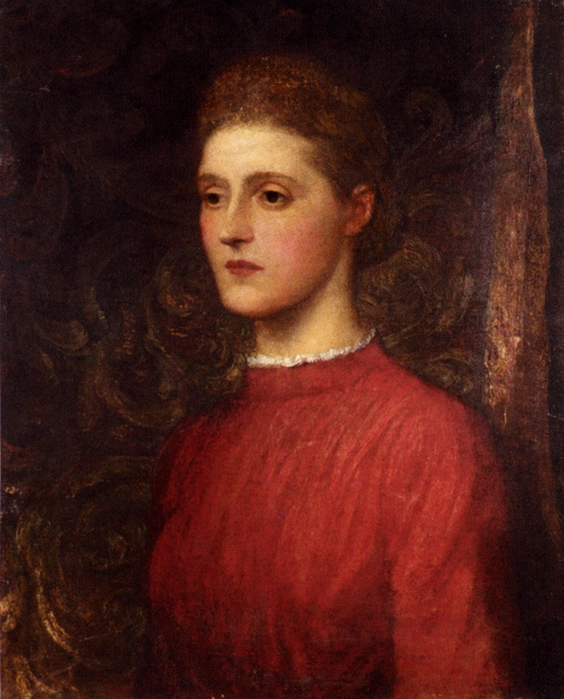 Portrait Of A Lady by George Frederic Watts