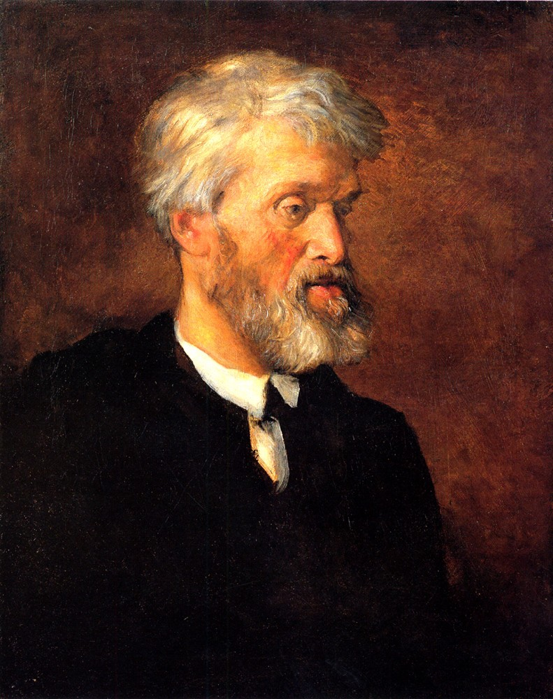 Portrait of Thomas Carlyle by George Frederic Watts