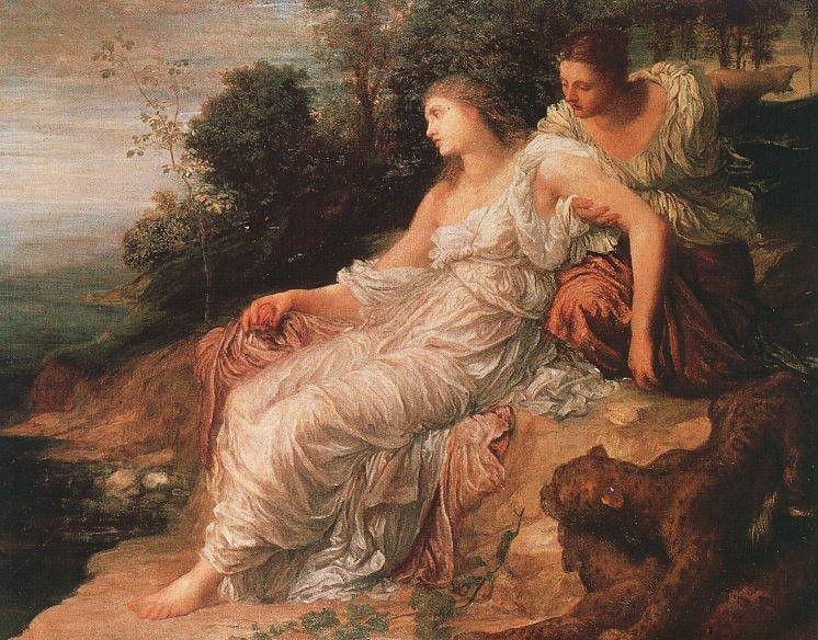Ariadne on the Island of Naxos by George Frederic Watts