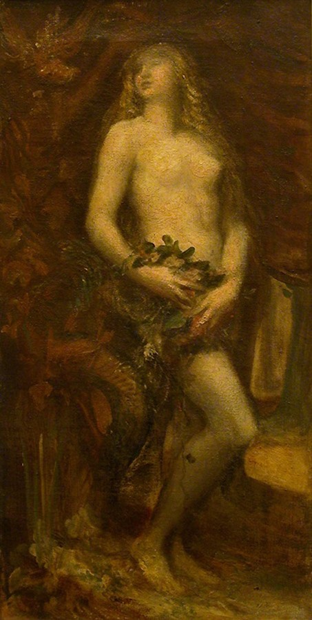 Eve tentee by George Frederic Watts