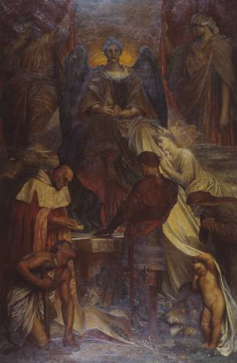 The Court of Death by George Frederic Watts