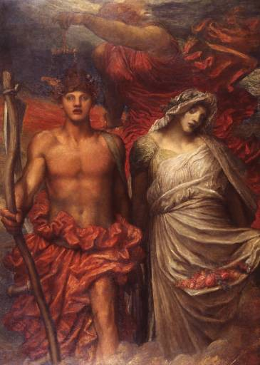 Time Death and Judgement by George Frederic Watts