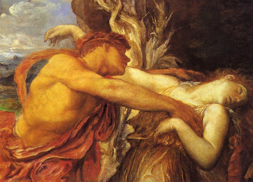 Orpheus And Eurydice by George Frederic Watts