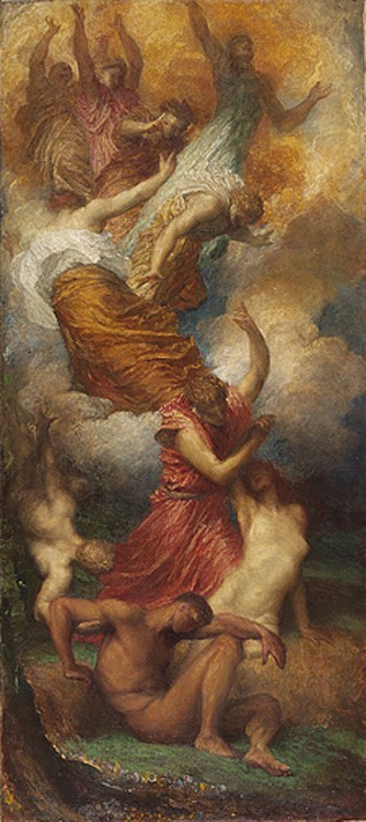 The Creation of Eve by George Frederic Watts