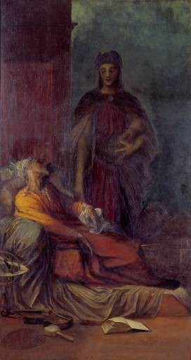 The Messenger by George Frederic Watts