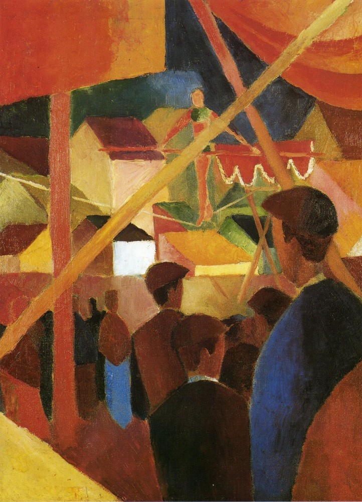 Tightrope Walker by August Macke