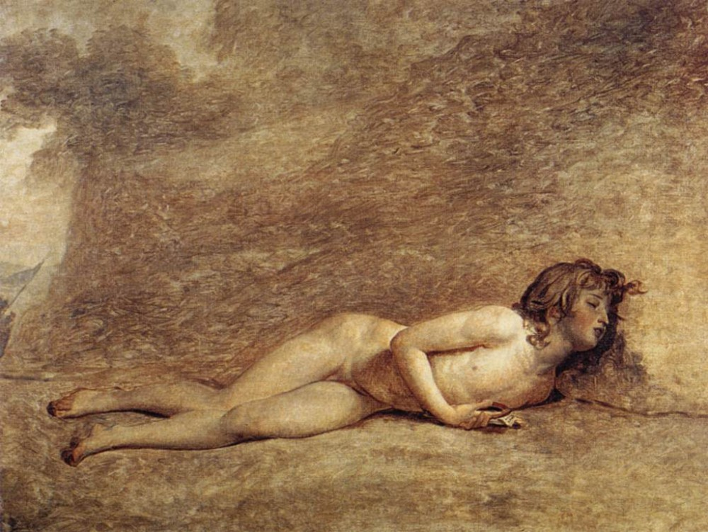 The Death of Bara by Jacques-Louis David