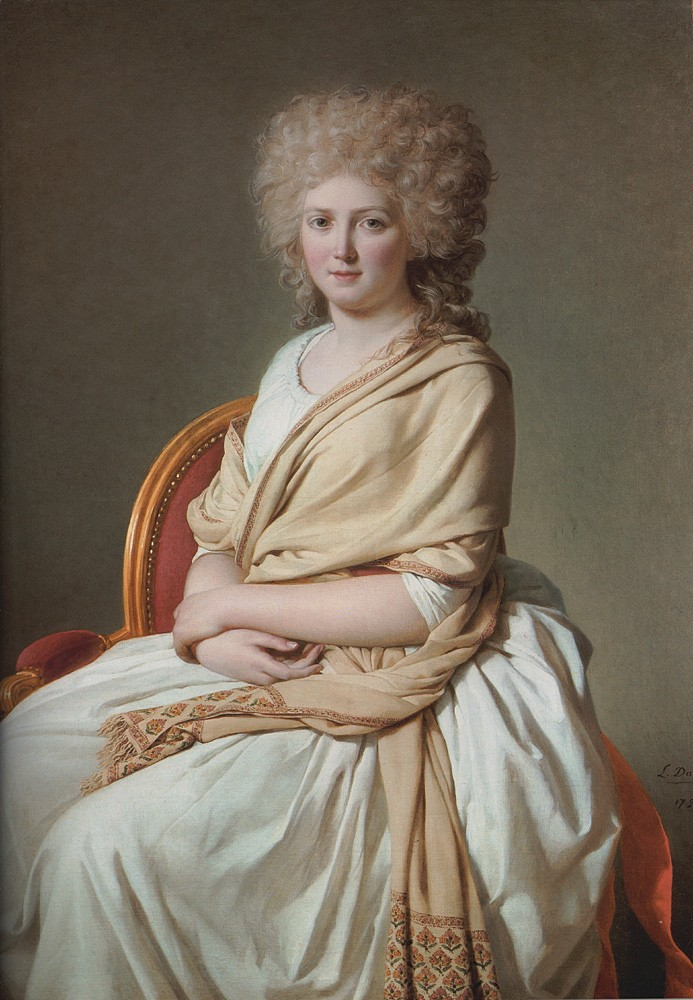 Portrait of Anne Marie Louise Thelusson by Jacques-Louis David