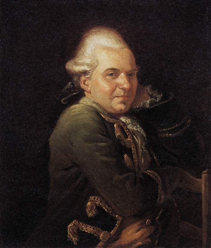 Portrait of Francois Buron by Jacques-Louis David