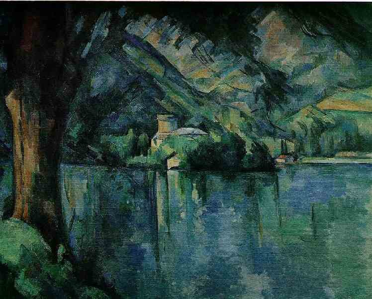Lake Annecy by Paul Cézanne