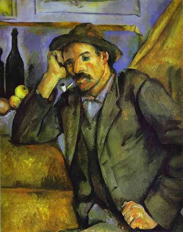 The Smoker by Paul Cézanne