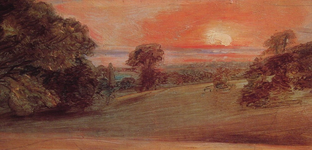 Evening Landscape at East Bergholt by John Constable
