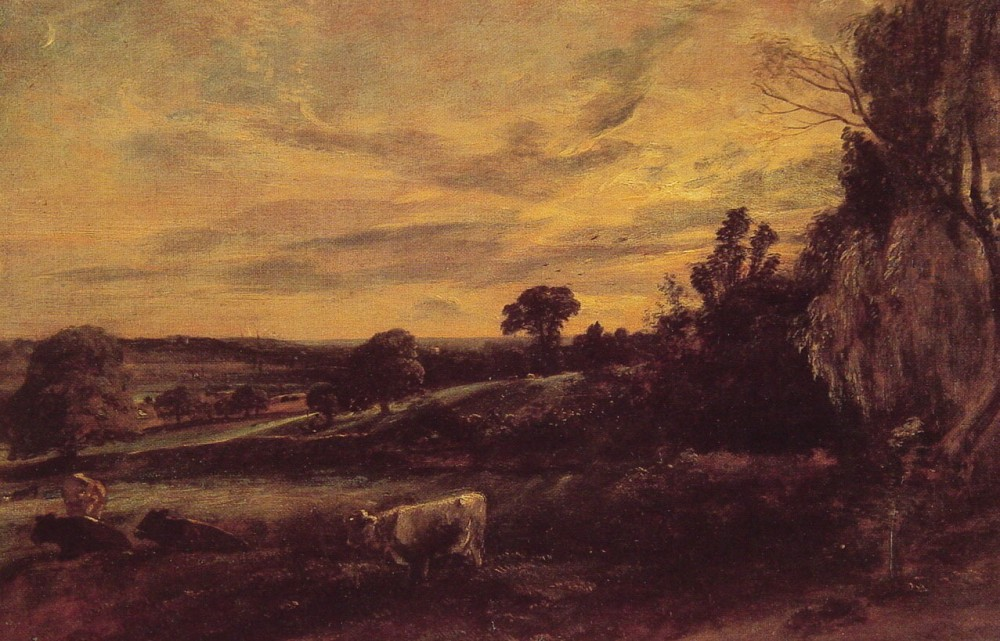 Landscape Evening by John Constable