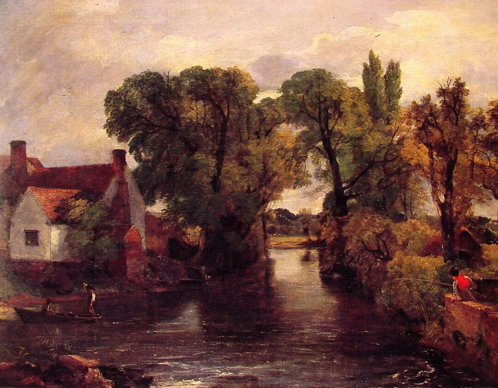 The Mill Stream by John Constable
