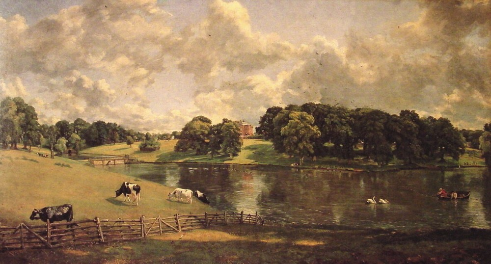 Wivenhoe Park by John Constable
