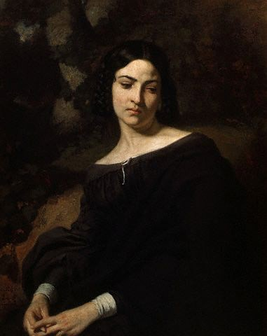 A Widow by Thomas Couture