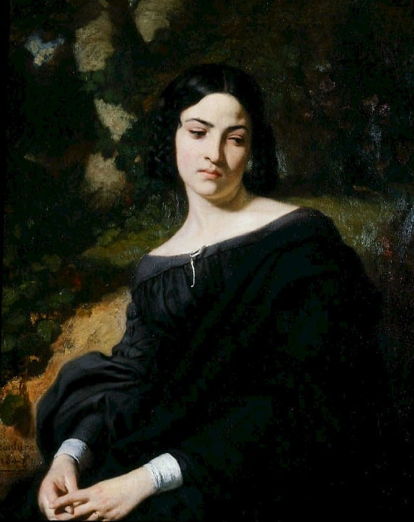 Thomas A Widow by Thomas Couture