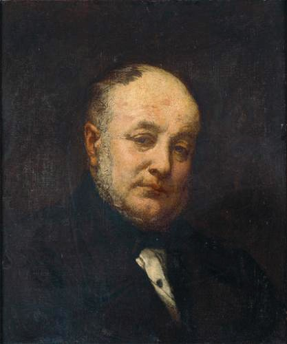 Portrait De l-Architecte Emile Gilbert by Thomas Couture