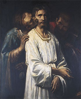 Le Baiser De Judas by Thomas Couture