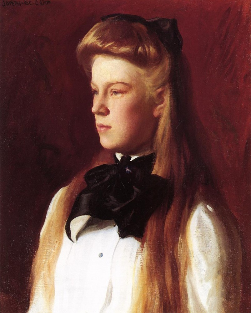 Miss Alice Boit by Joseph Rodefer DeCamp