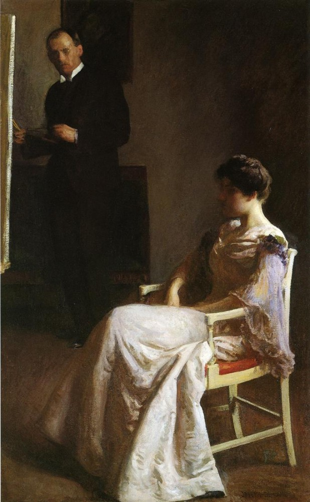 In the Studio by Joseph Rodefer DeCamp