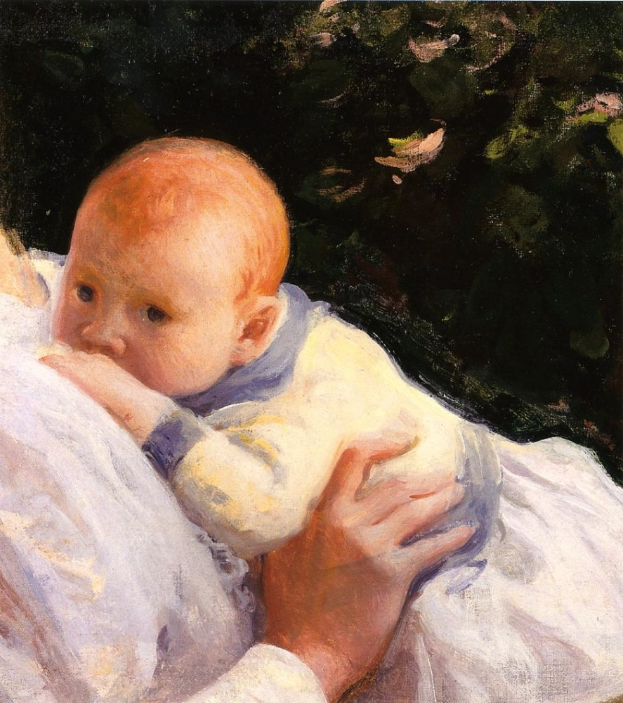 Theodore Lambert DeCamp as an Infant by Joseph Rodefer DeCamp