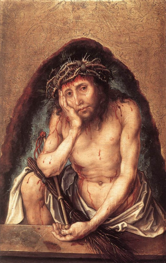 Christ as the Man of Sorrows by Albrecht Dürer