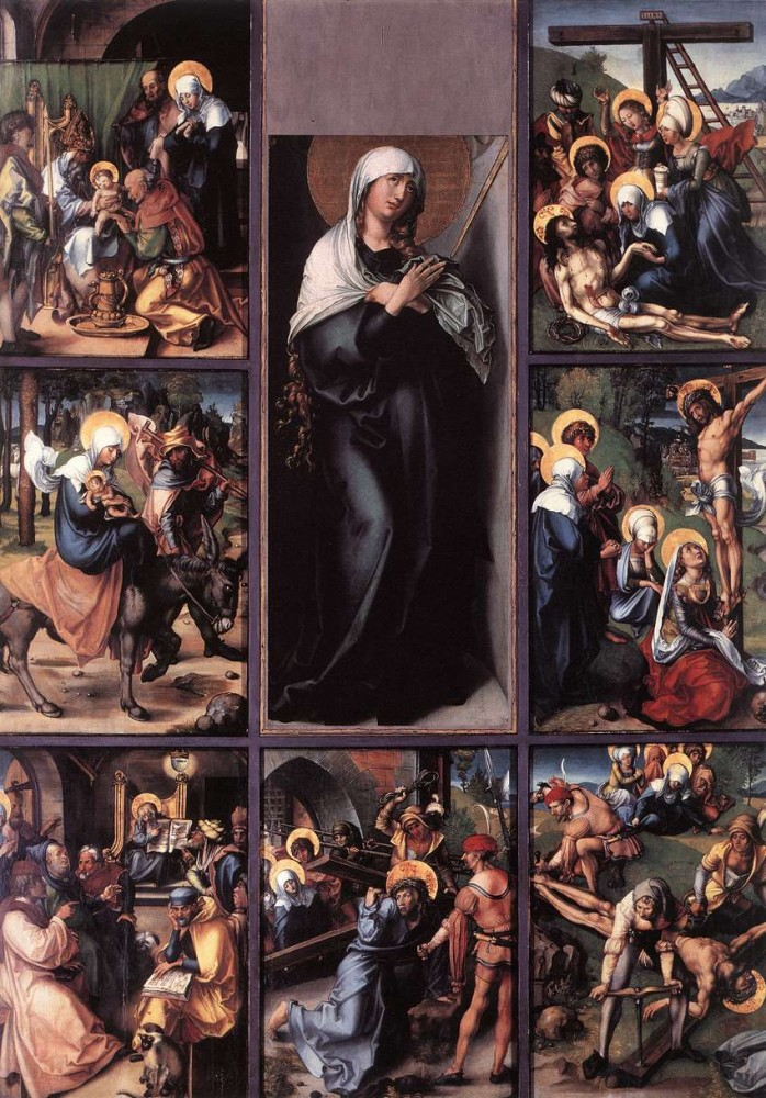 The Seven Sorrows of the Virgin by Albrecht Dürer