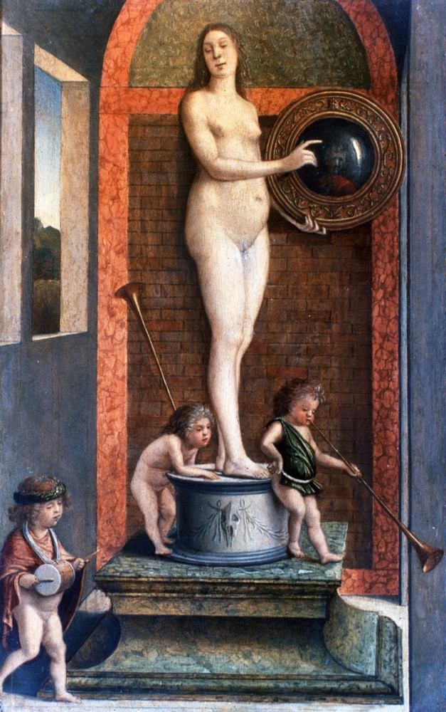 Lady at Her Toilette by Giovanni Bellini