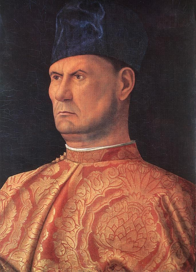 Portrait of a Young Man In Red by Giovanni Bellini