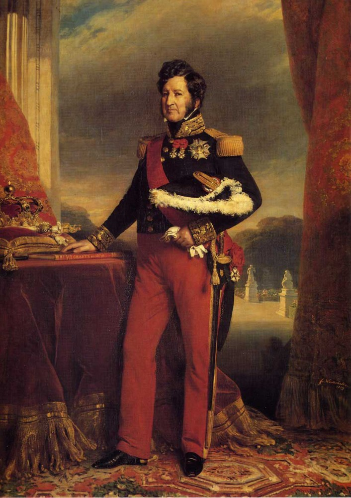 King Louis Philippe by Franz Xaver Winterhalter