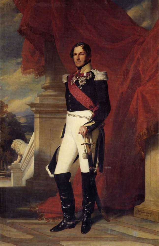 Leopold I King of the Belgians by Franz Xaver Winterhalter