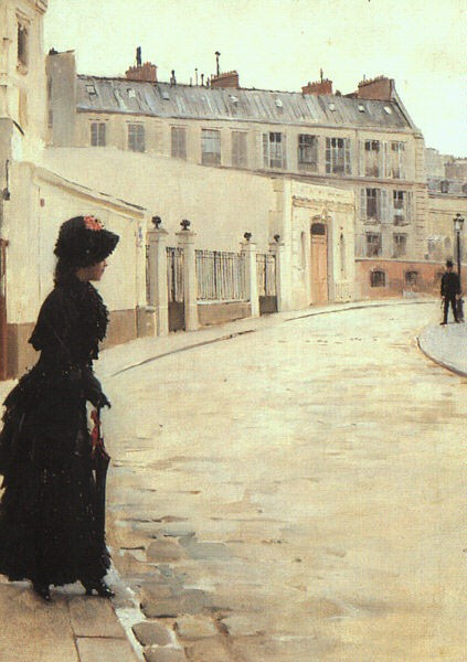 The Wait by Jean Béraud