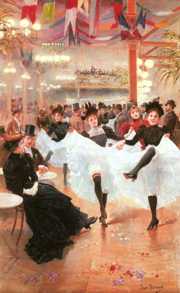 Le Cafe De Paris by Jean Béraud
