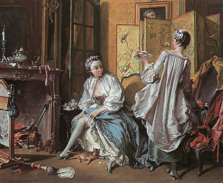 La Toilette by François Boucher