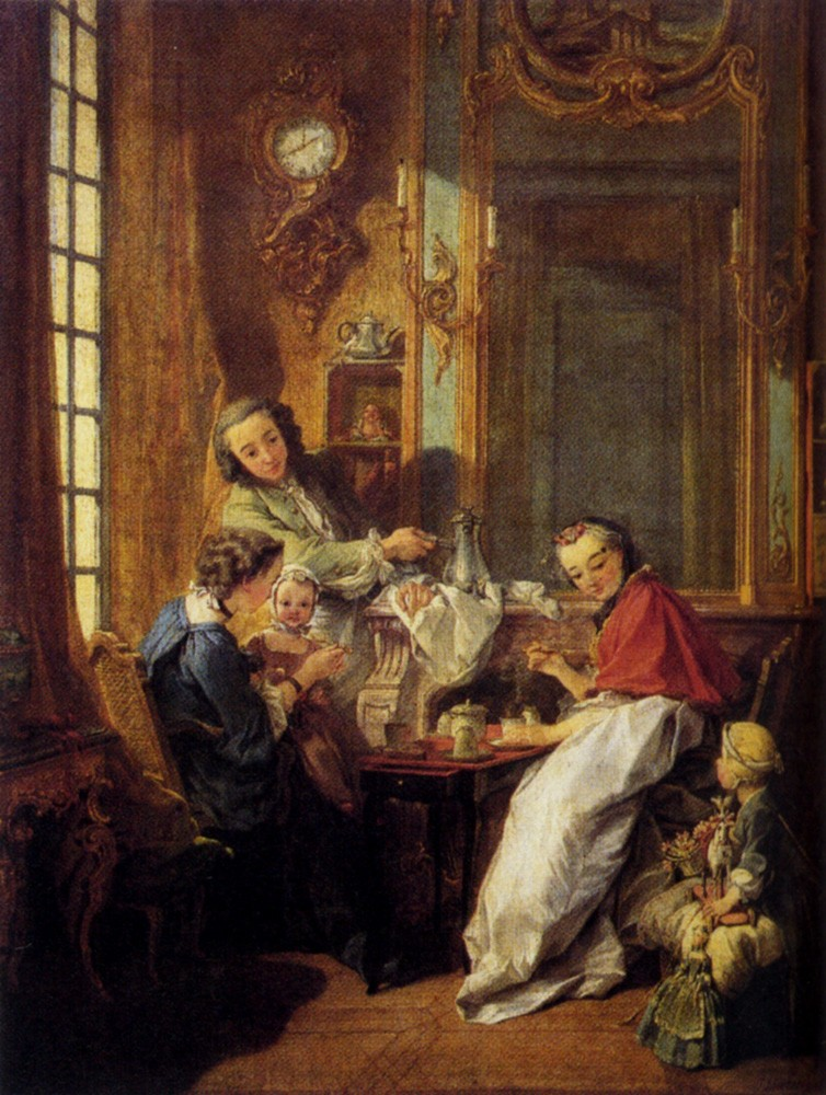 Morning Coffee by François Boucher